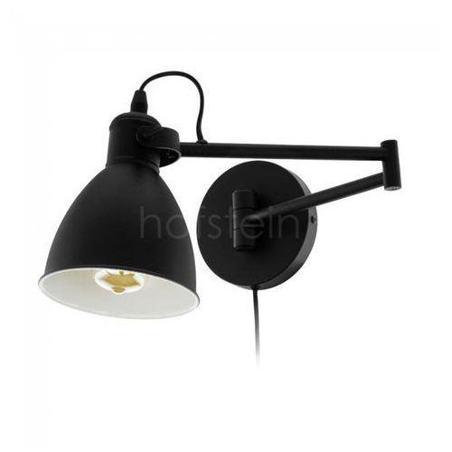 Eglo Kinkiet lampa ścienna san peri 97886 metalowa oprawa reflektorek na wysięgniku loft czarny