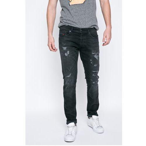 - jeansy marki Diesel