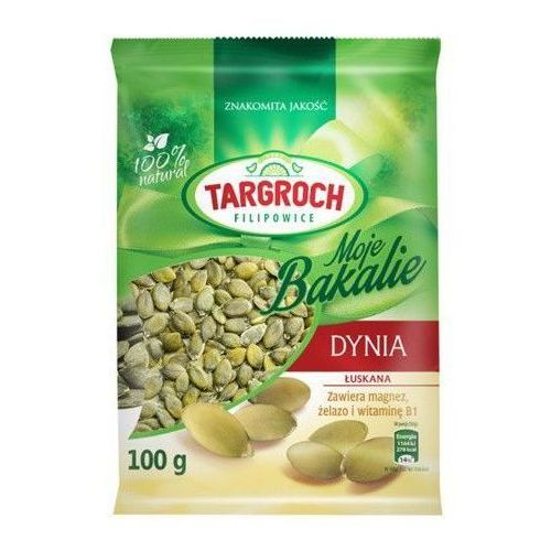 100g pestki dyni łuskane marki Targroch