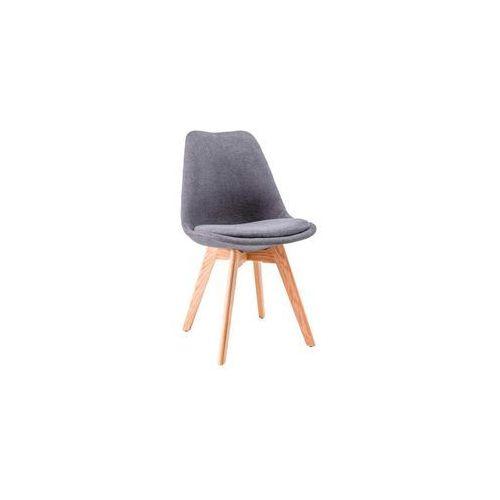 Krzesło Dior, SIG/KRZ_DIOR_DAB/CIEMNY-SZARY_DIORDCSZ