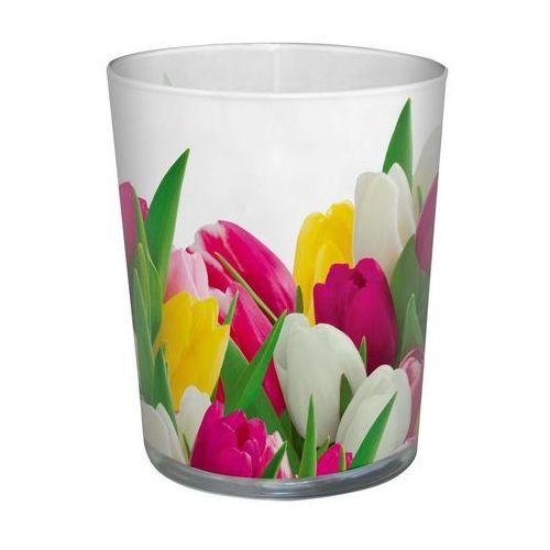 Paw decor Świeca zapachowa w szkle bunch tulips tulipany (5906360885651)