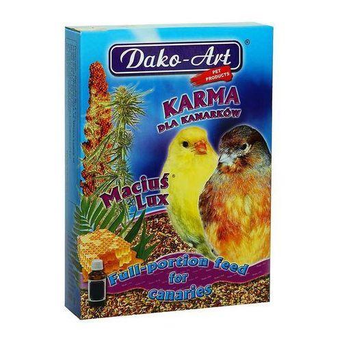 maciuś - pełnowartościowy pokarm dla kanarków 25kg wyprodukowany przez Dako-art