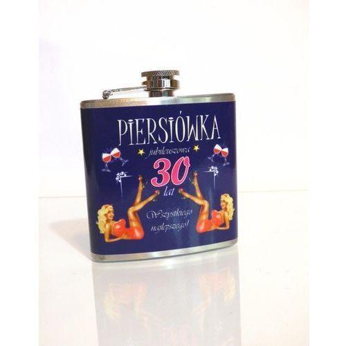 Giftworld Piersiówka jubileuszowa - 30 (niebieska)