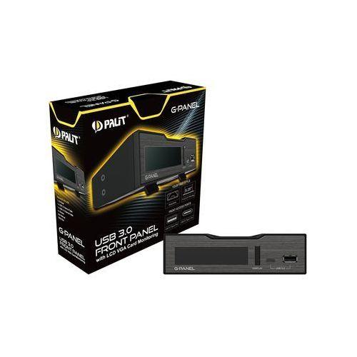 OKAZJA - Karta graficzna Palit GeForce CUDA GTX1080 GameRock z G-Panel 8GB GDDR5X (256 Bit) HDMI, DVI, 3xDP, BOX (NEB1080T15P2GP) Darmowy odbiór w 21 miastach!