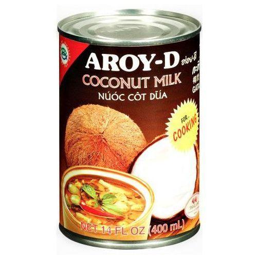 Mleko kokosowe do gotowania w puszce 400ml - marki Aroy-d