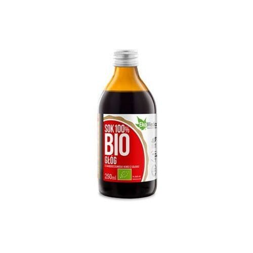 Głóg sok BIO 250 ml EkaMedica, 5907222283639