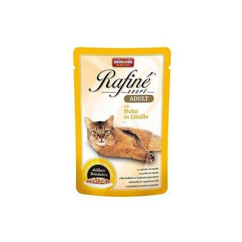 ANIMONDA Rafine Soupe Adult smak: kurczak w jajku 100g (4017721836654)