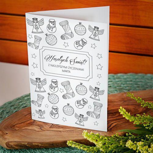 Najlepsze życzenia świąteczne - kartka z życzeniami - kartka z życzeniami marki Mygiftdna