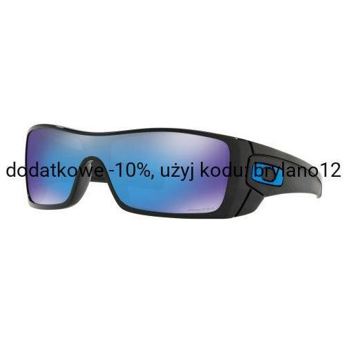Okulary batwolf polished black prizm sapphire iridium oo9101-5827 marki Oakley