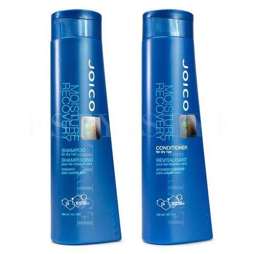 Joico moisture recovery | zestaw do włosów suchych: szampon 300ml + odżywka 300ml