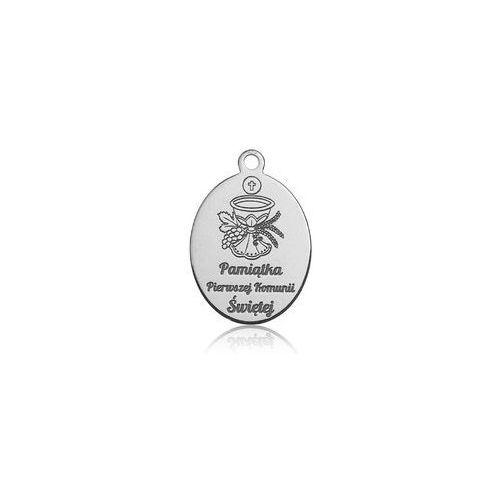 Zawieszka Pamiątka I Komunii Świętej, srebro 925 BL 383