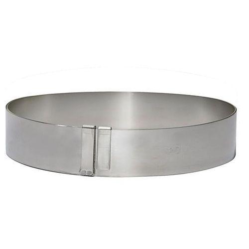 Rant piekarniczo-cukierniczy okrągły regulowany - śr. 18-36 cm marki De buyer