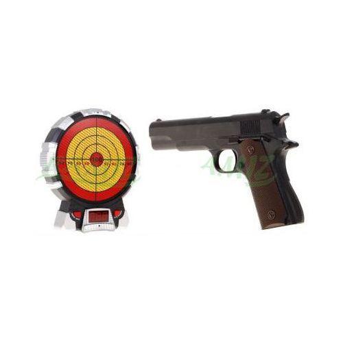 Xinze Pistolet laserowy (amerykański colt 1911a1) + elektroniczna tarcza strzelnicza.