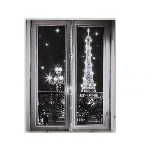 Obraz drukowany na płótnie z podświetleniem WINDOW - 18 diod LED - 40 * 50 cm