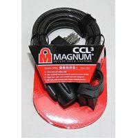 Magnum Zapięcie rowerowe  3017 linka - 12mm 180cm - 5 x klucze z kodem (7290001230176)