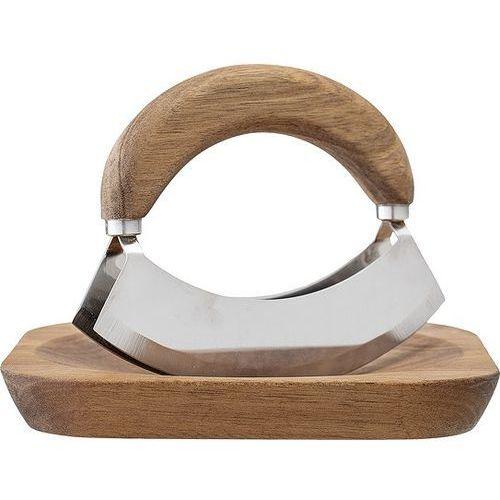 Bloomingville Deska drewniana i nóż do ziół
