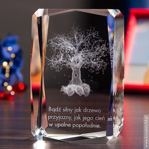 Drzewo 3D z Twoją dedykacją • statuetka 3D • GRAWER 3D