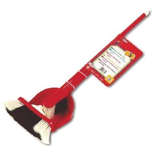 Zabawka KLEIN Zestaw do Zamiatania Czerwony Miotła Zmiotka Szufelka - produkt z kategorii- Pozostałe zabawki edukacyjne