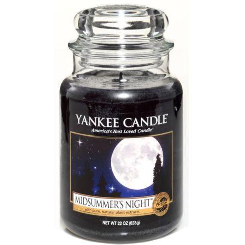 świeca midsummer's night, duża marki Yankee candle