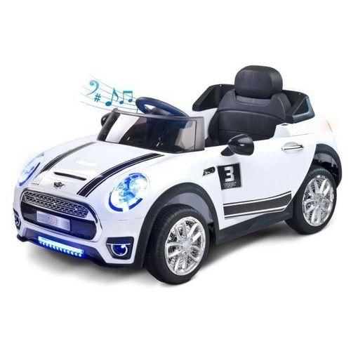 Toyz Pojazd samochód dziecięcy na akumulator + pilot maxi biały (5902021526154)