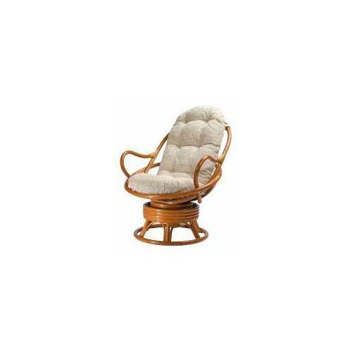 Fotel bujano-obrotowy 05/01 marki Calamus rotan