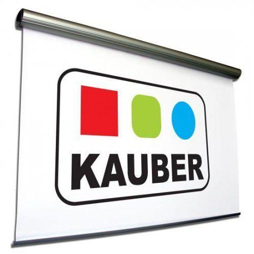 Ekran elektrycznie rozwijany Kauber MIDKING 450x450cm, 1:1 White Ice, 2087