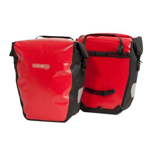 Ortlieb O-f500101 sakwy tylne back-roller city czerwone 40l logo bikeman (4013051043779)