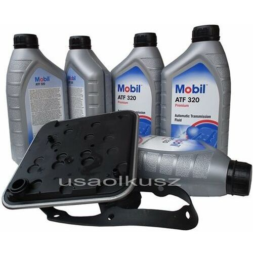 Filtr oraz olej skrzyni 4spd atf320 fiat freemont marki Mobil