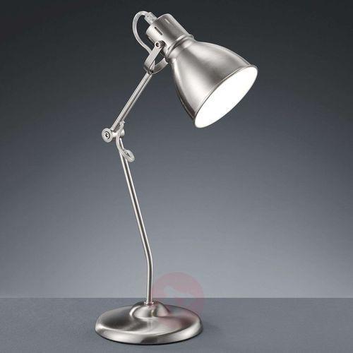 Lampa stołowa Keali z reg. wys. matowy nikiel (4017807268676)