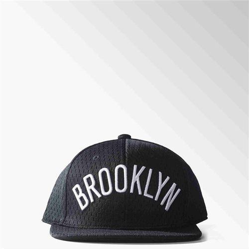 czapka z daszkiem ADIDAS - Nba Mesh Nets Black/Whit (BLACK WHIT)