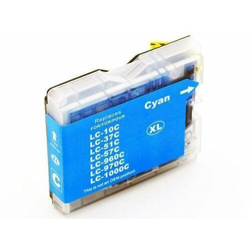 Dd-print Tusz niebieski lc1000c / lc970c do brother dcp 135c / dcp 150c / 357c / nowy zamiennik / 20ml