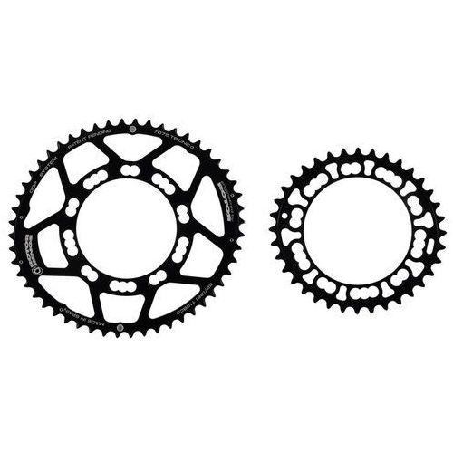 Rotor Q-Rings 110 BCD Zębatka rowerowa Set 50/34 czarny 2017 Zębatki przednie