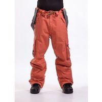 Spodnie - dustoff pants c heather orange (96) rozmiar: xl marki Nugget