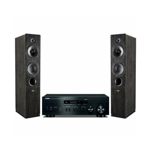 Zestaw stereo YAMAHA R-N402D BL + INDIANA LINE Tesi 561 Czarny, R-N402D/TESI 561