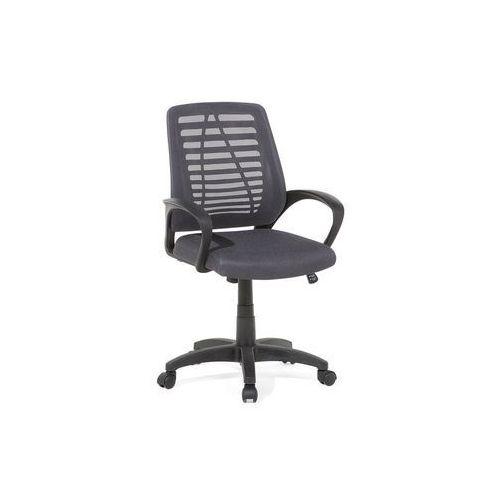 Beliani Krzesło biurowe szare - meble biurowe - fotel komputerowy - mayor