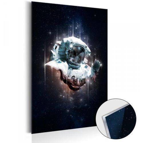Obraz na szkle akrylowym - Astronauta - Kosmiczny wędrowiec [Glass]