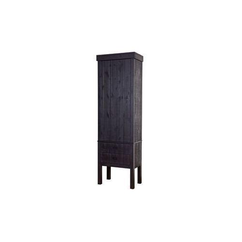 szafa drewniana summit czarna 800486-z marki Be pure