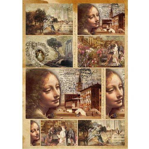 Papier klasyczny do decoupage Stamperia 50x70 cm - 393