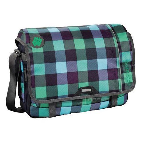 """Coocazoo hangdang ii torba na ramię - laptop 15,6"""" / green purple district - green purple district (4047443219930)"""