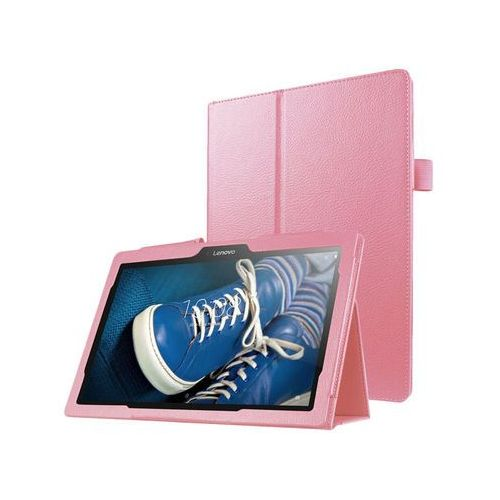 Etui Stand Cover Lenovo Tab2 A10-30/ Tab 10 TB-X103 F/L Różowe - Różowy