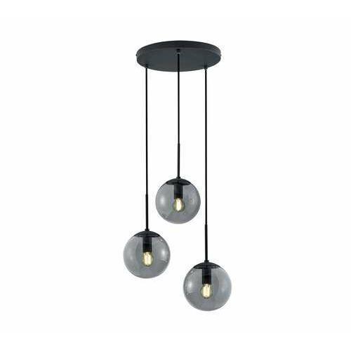 Trio balini 308590342 lampa wisząca zwis 3x28w e14 antracytowa/dymiona