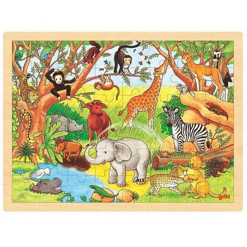 Goki Puzzle, afryka, 48 el. (4013594578929)