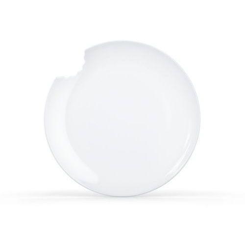58products - talerz Ø 20 cm - biały błyszczący - 2 szt