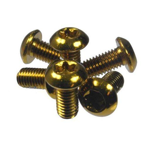 Dart-a12975 śruby mocujące tarcze hamulcowe stalowe złote, 6 szt. marki Dartmoor
