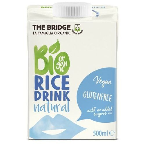 121the bridge Napój mleko ryżowe naturalne bez glutenu 500ml the bridge