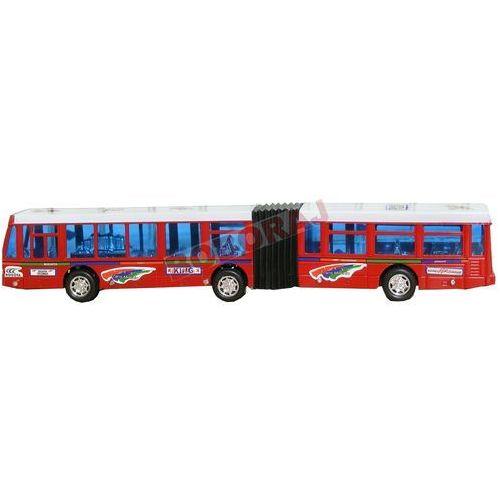 Autobus czerwony 40cm z napędem marki Gazelo toys