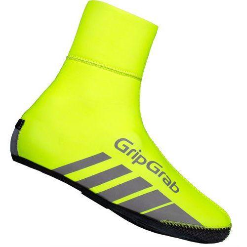 Gripgrab racethermo hi-vis osłona na but żółty s 2017 ochraniacze na buty i getry (5708486003298)