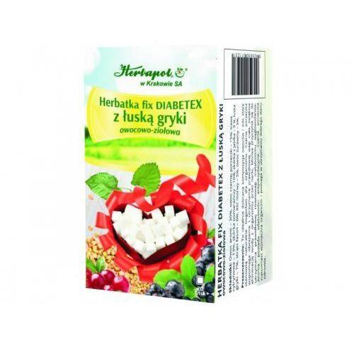 Herbatka fix diabetex z łuską gryki marki Herbapol