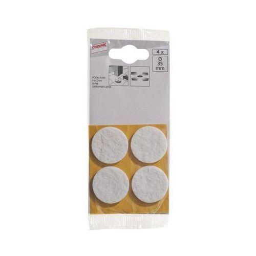 Podkładki filcowe SAMOPRZYLEPNE 35 mm 4 szt. (4007219314931)