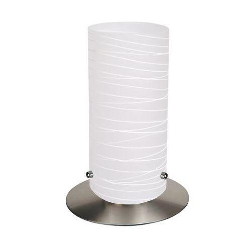 Rabalux Lampka stołowa lampa biurkowa aurel 1x60w e27 satynowy chrom 6339